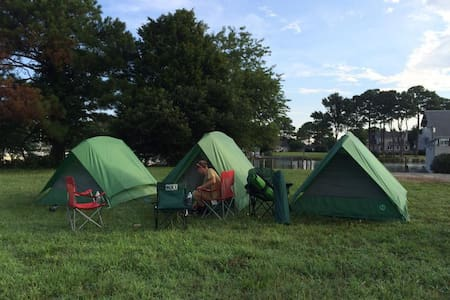 Tent Sites on the Chesapeake Bay *Boat Ramp/Slips*