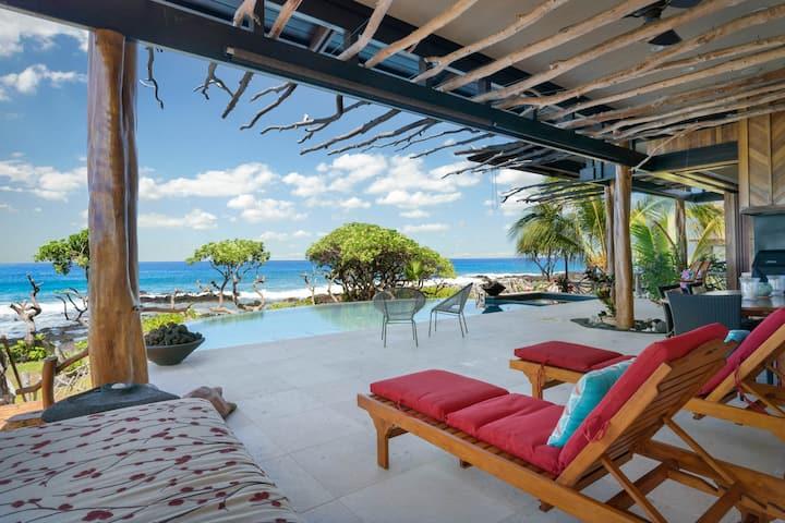 Luxury Oceanfront Island living