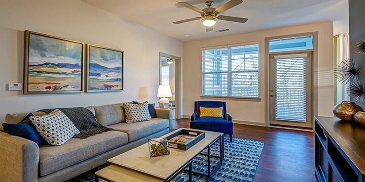 Stretch out. Work. Unwind. | 1BR in Charlotte