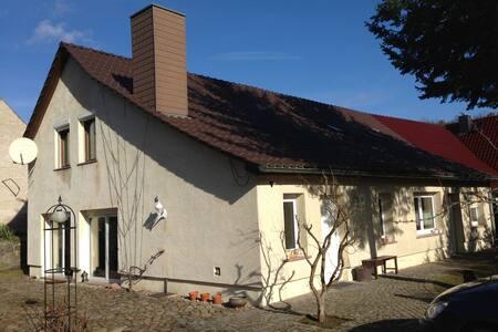 Urlaub im Grünen zwischen Kloster und Schlaubetal - Neuzelle - Apartmen