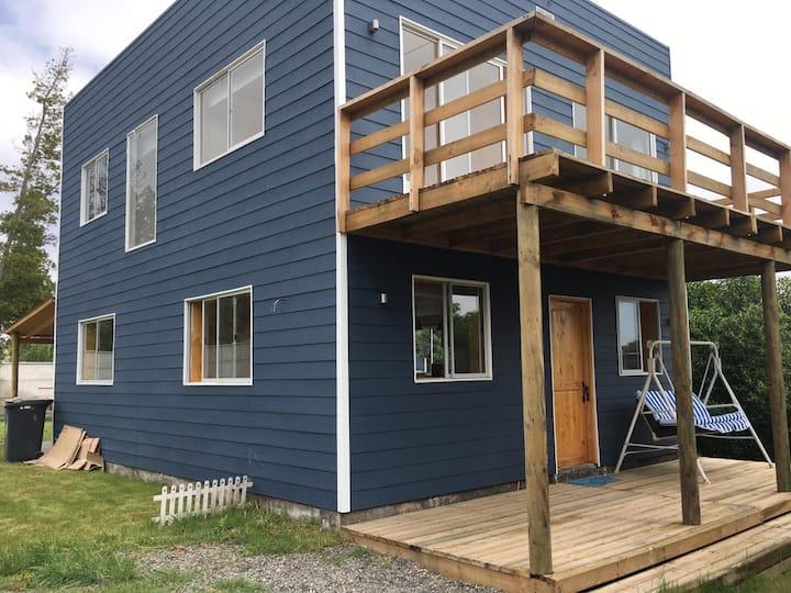 Casa Azul Lago Rapel