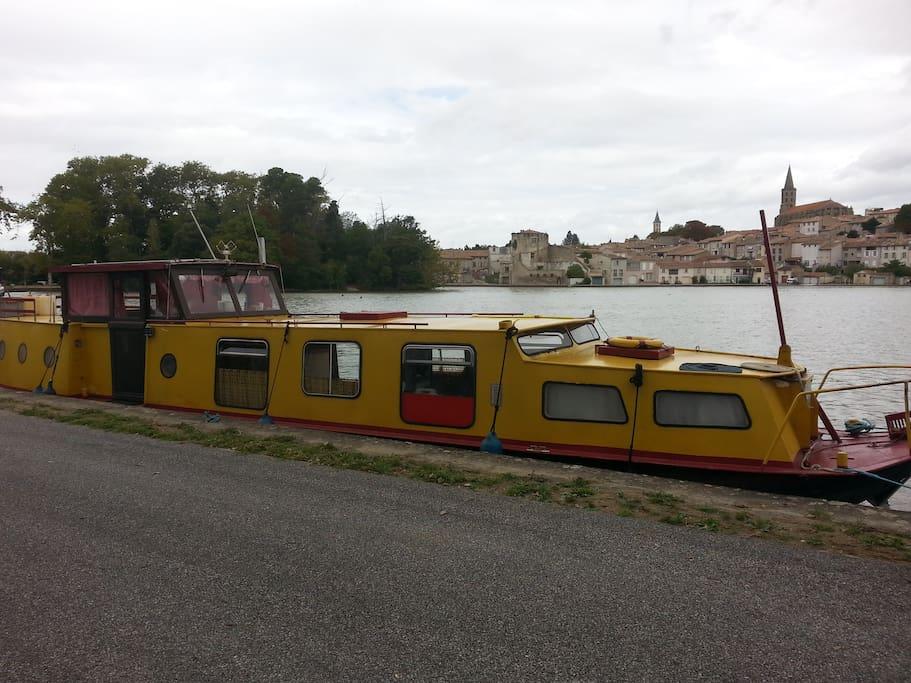 penichette logement atypique sur le canal du midi bateaux louer castelnaudary occitanie. Black Bedroom Furniture Sets. Home Design Ideas