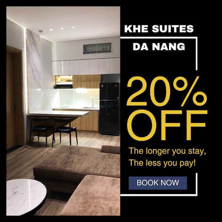 Khe Suites 01BR Apt/City Center-3mins to Han River