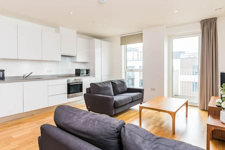 Super Luxury 2 Bedroom Flat Stratford East Village - 伦敦 - 公寓