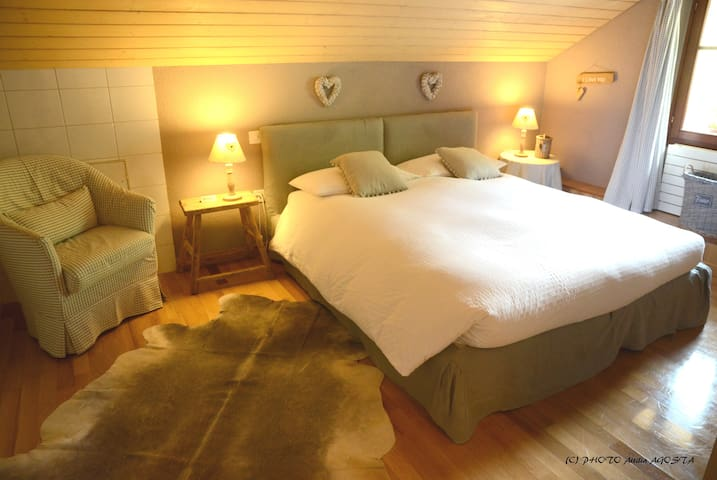 CHALET STELLA ALPINA - suite jacuzzi - Bedretto - Bed & Breakfast