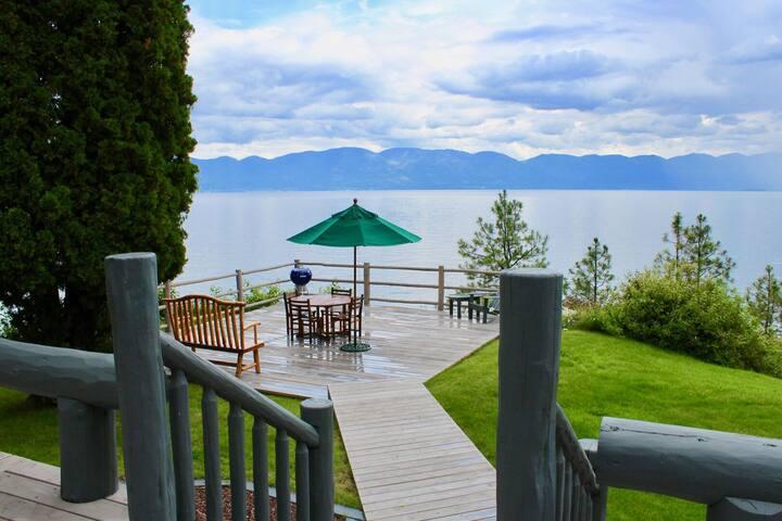 New! Moon Rising Estate on Flathead Lake