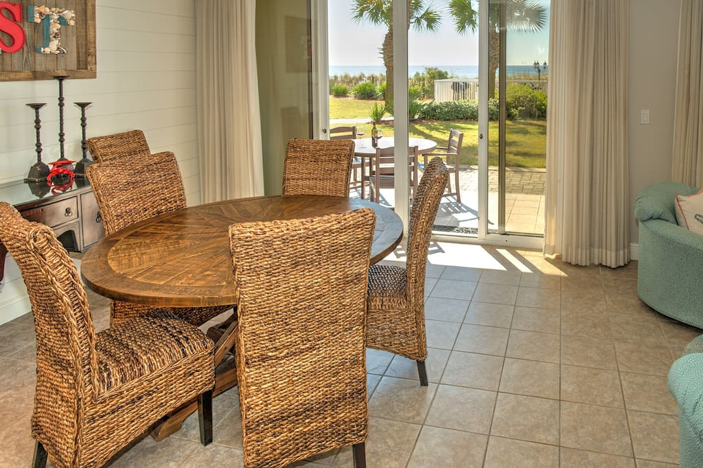 Beach Front Condo With Awesome DOUBLE Patio!