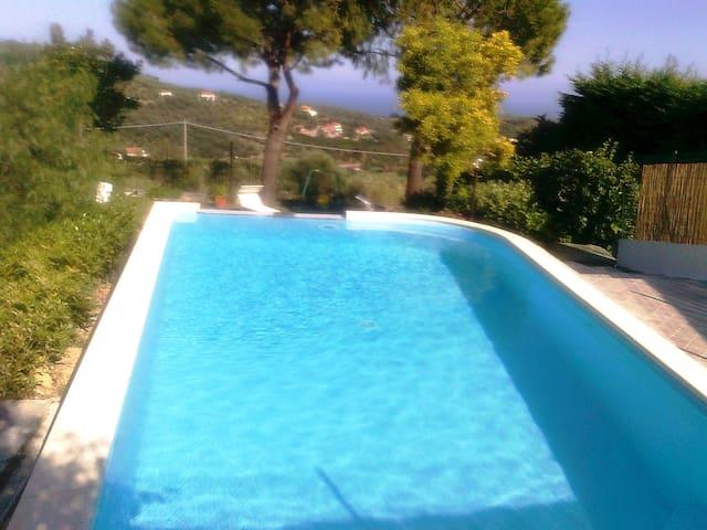 Notre maison - La nostra casa tra gli ulivi - Imperia - Villa