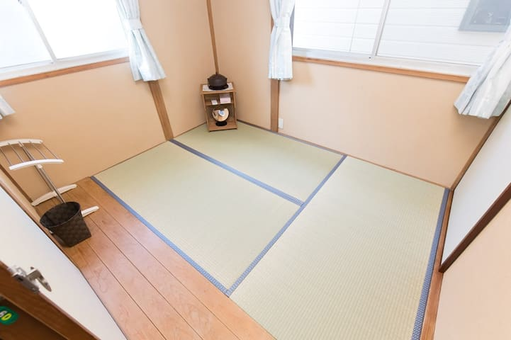 ShareRoom nr Sta Easy→Shinjuku Int+WiFi+TV - Arakawa
