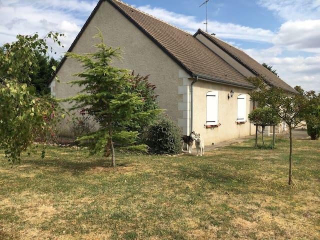 Maison calme proche des Thermes La Roche Posay - Yzeures-sur-Creuse - Casa
