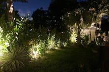 Outdoor night lighting