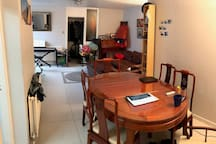 Dining room/living room (photo 1)