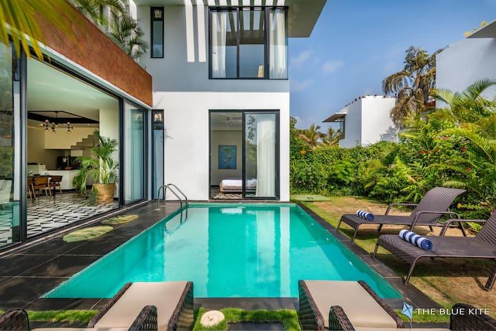 Boutique villa- private pool, great WIFI & GENSET