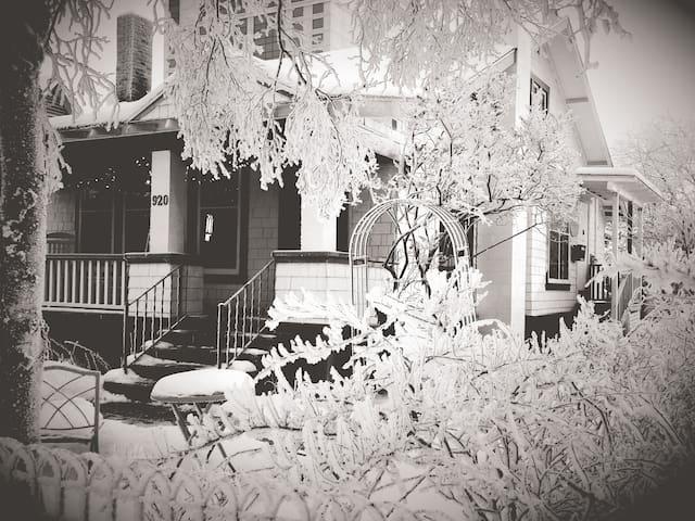 Downtown Historic Attic Suite