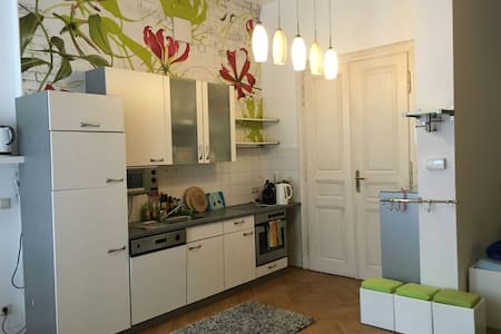 20m² in spacious&charming city apmt - Viena - Loft