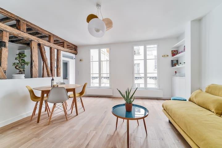 Charming flat in the heart Of Paris - LE MARAIS