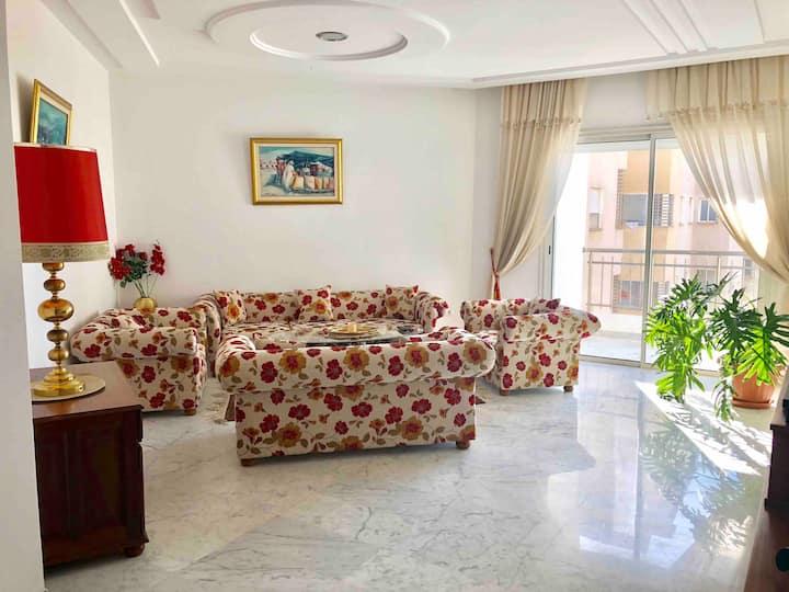Appartement très lumineux, luxueux et spacieux