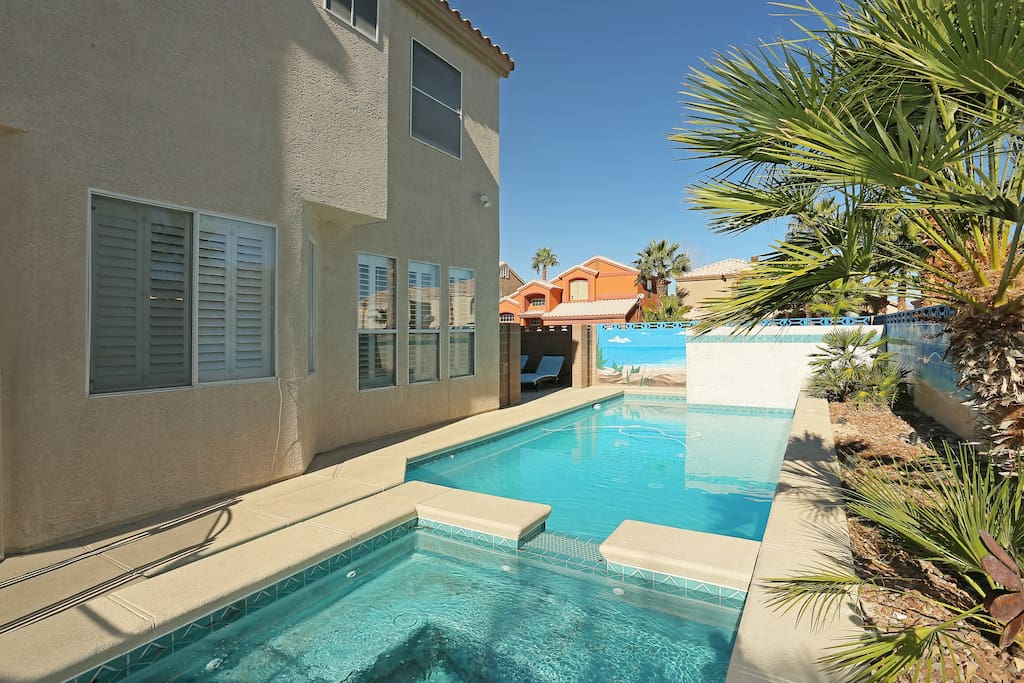 Optional Heated Pool & Spa - Vegas Vacation Home Rentals