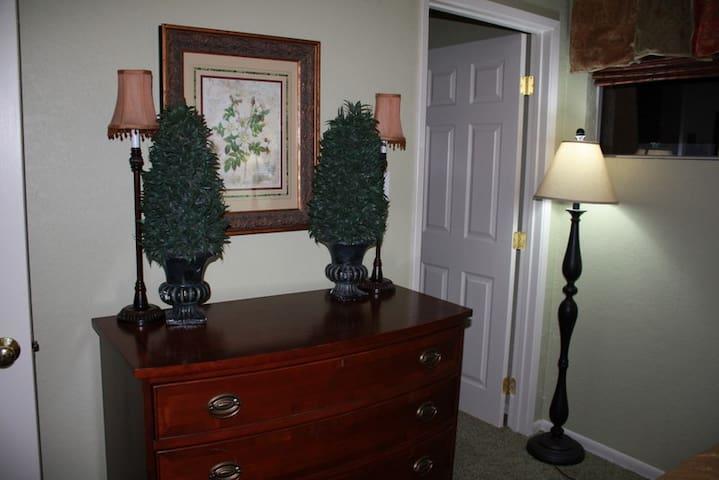Master Bedroom - Large Closet - Plenty of Drawers