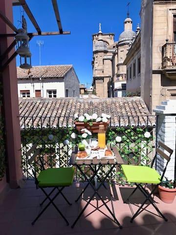 Estudio Catedral Con Terraza - Granada - Condominium
