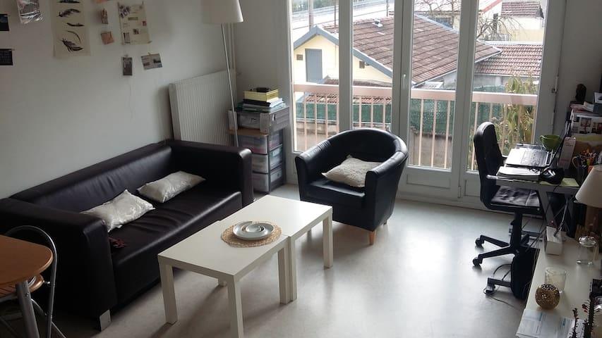 Appartement de 37 m² situé à 15 min de Nancy