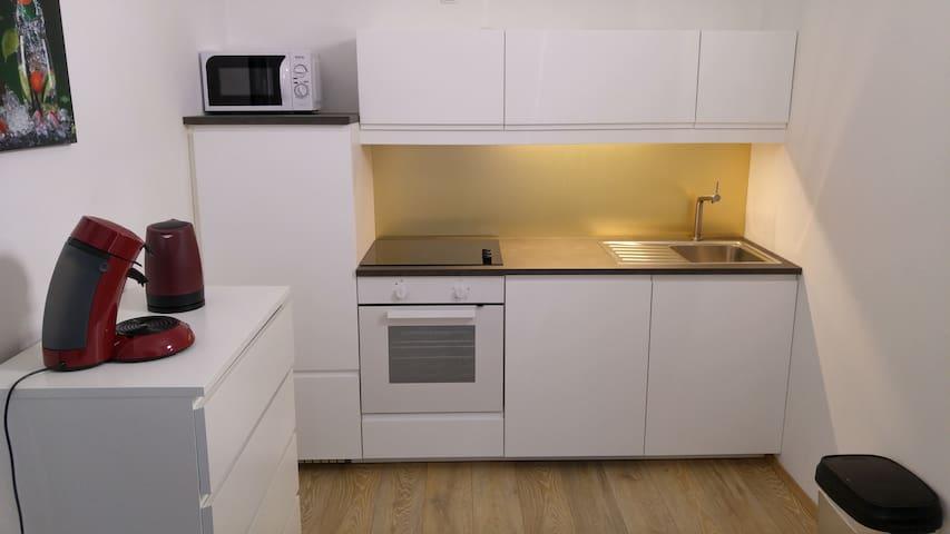 Küche @ferienwohnungengmunden