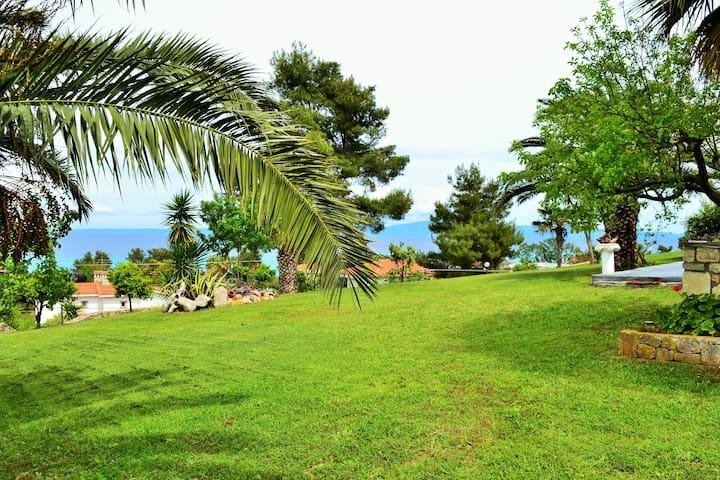 Seaside View Villa  Hanioti . (Phone number hidden by Airbnb)