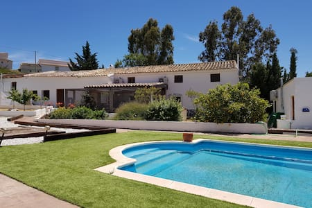 Converted Spanish farmhouse in peaceful location.