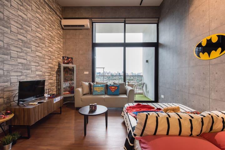 Luxury Marvel Loft Studio At KL Sentral, Bangsar