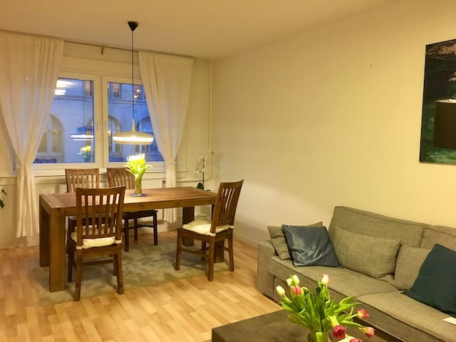 Centrally located modern apartment in Stadmitte
