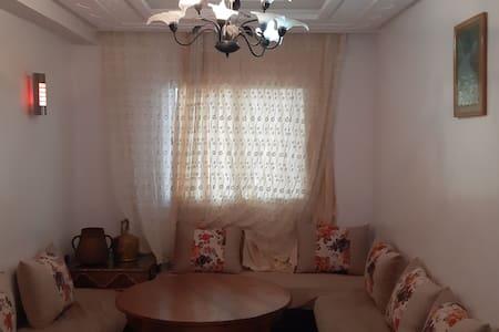 Appartement meublé à 2min de la plage de skhirat