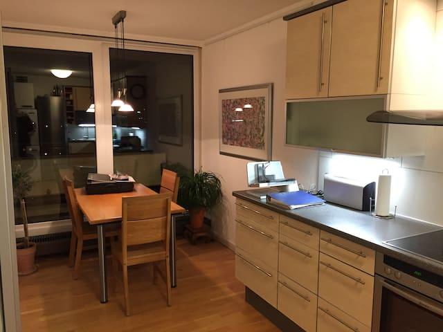 Helles TOP-Apartment für Arbeit, Messe & Erholung - Kaarst - Apartemen