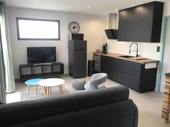 Appartement neuf de type T2 en rez-de-chaussée