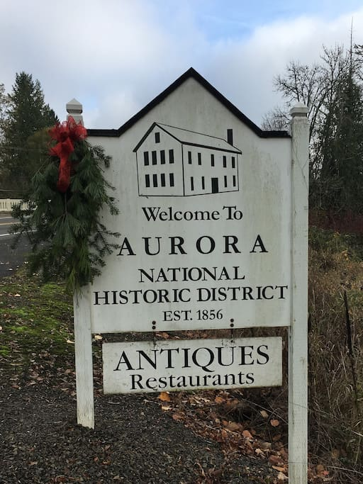 Hope you can find time to browse through some of Aurora's finest antique shops, indulge in a little wine tasting or satisfy your tastebuds at the local watering hole, The Aurora Colony Pub.