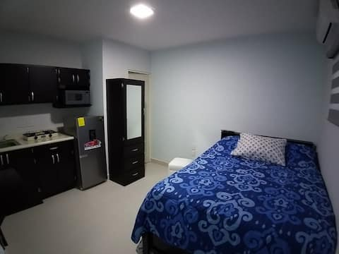 Excelentes suites amuebladas en el centro (hab.#6)