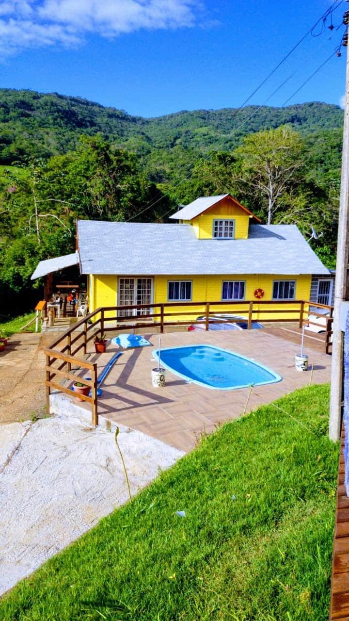 Casa Amarela Natureza, Praia, Descanso e Lazer