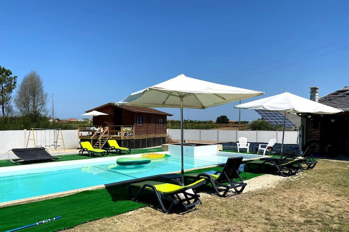 Lactuca Brown Bungalow, Vagos, Aveiro !New!