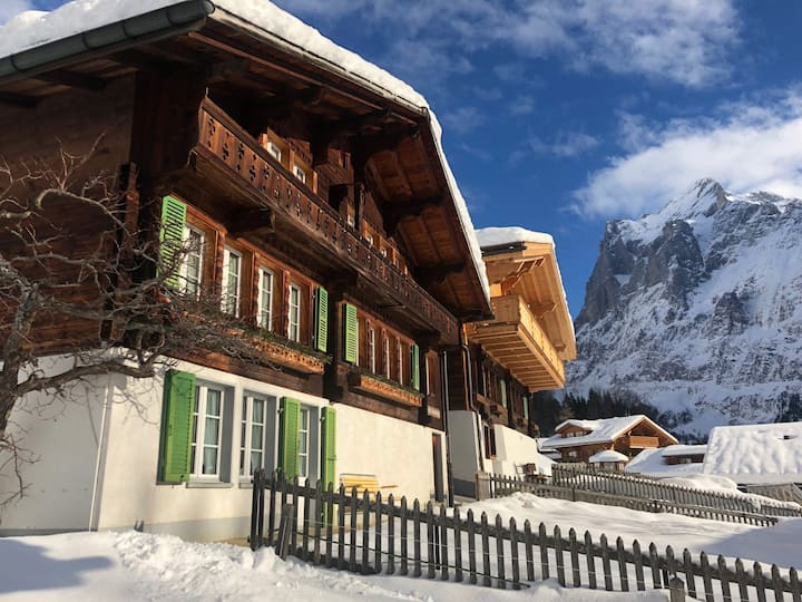 Apartment with view onto the Eiger