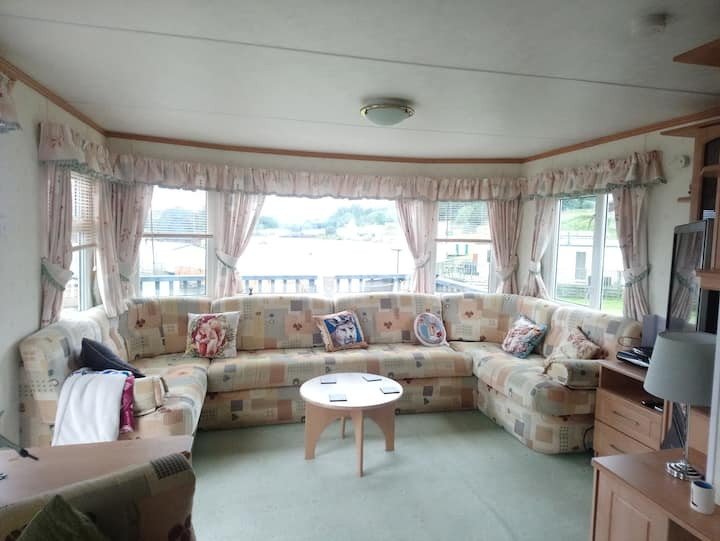Static Caravan to hire on edge of Galloway forest