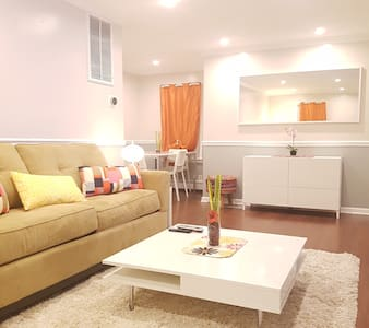 Deluxe Retreat/min to JFK/patio+cable+wifi+parking - 谷溪(Valley Stream) - 公寓