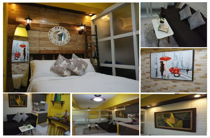 Tagaytay Casita del Rose Condo, Netflix+WiFi+Pool
