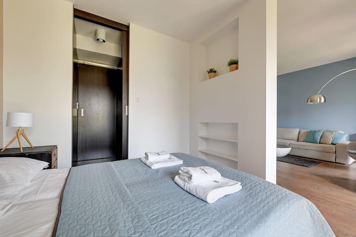 Apartament Nadmorski Dwór II Studio dla 4 osób