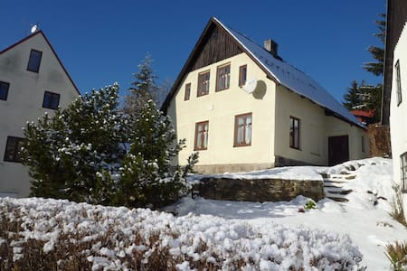 Emily House - your second home in Ore Mountains - Abertamy - Ev