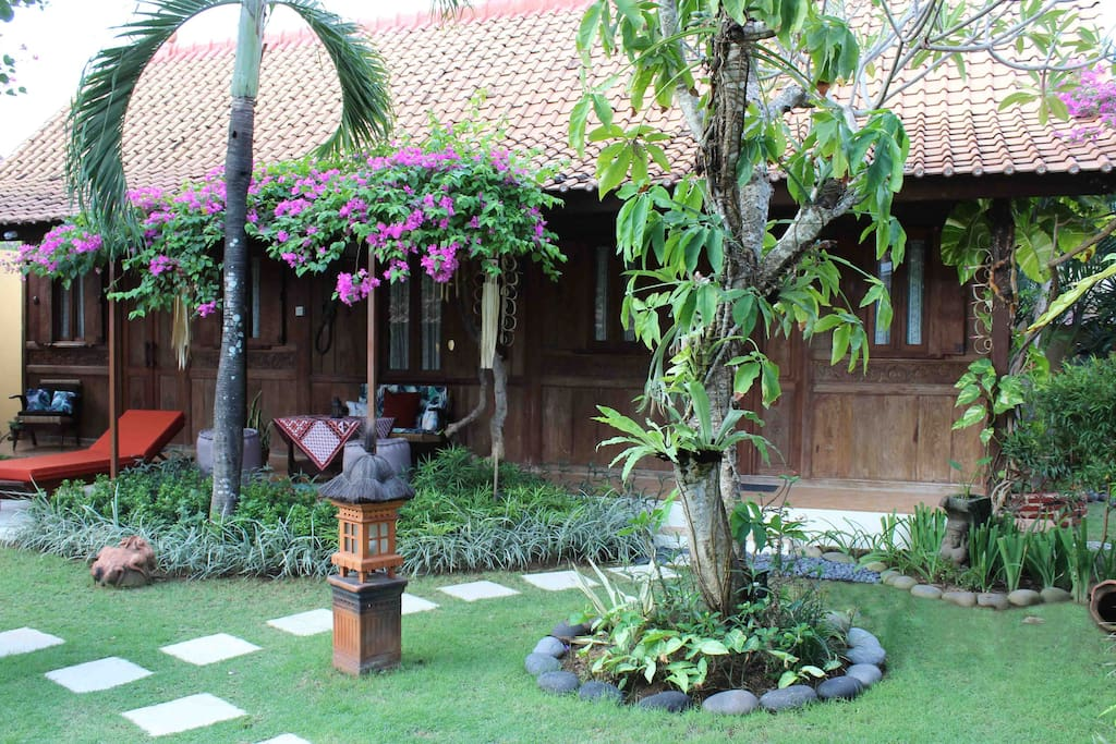 Traditional Javanese Bungalow