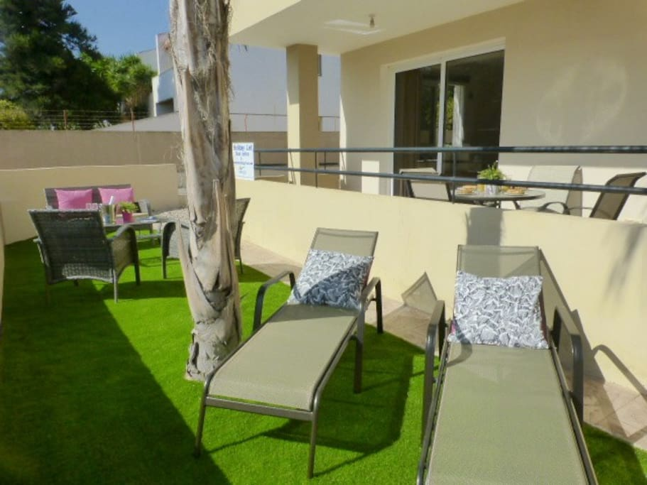 Your own garden and sun terrace!!!!