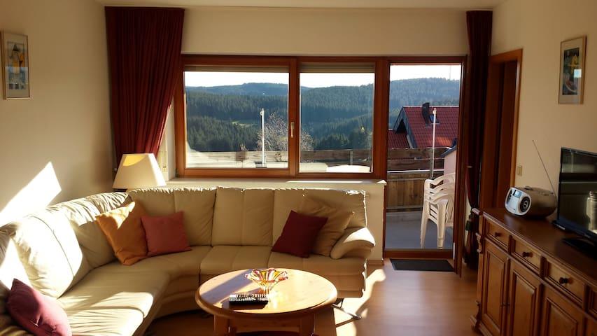 Ferienwohnung STERN (4 - 5 Pers.) - Schonach im Schwarzwald - Apartamento