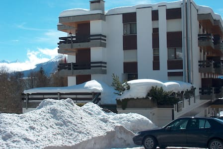 Nice appartment, walking distance to ski lift - Randogne - Apartment