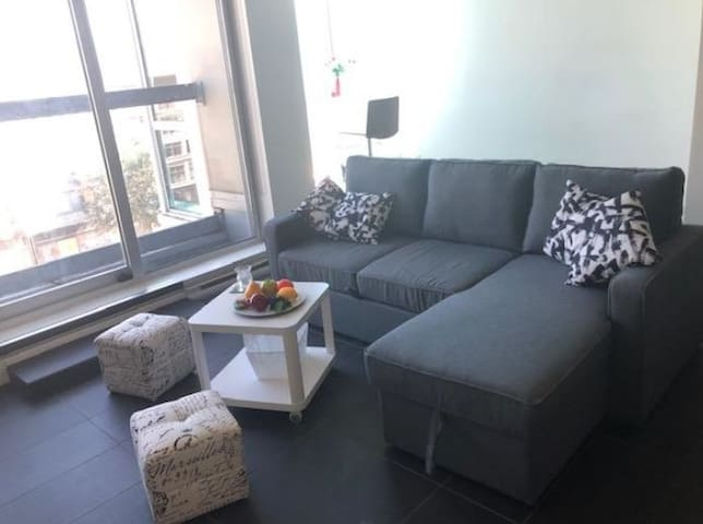The newest  cozy apartment in downtown Vancouver