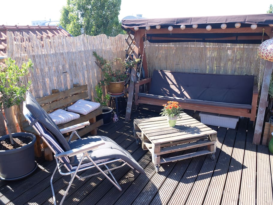Your private roof top terrace
