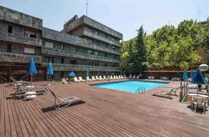 Apartamento de lujo junto al Santiago Bernabéu